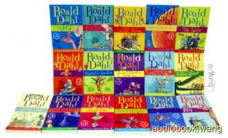 Roald Dahl 有声电子书合集打包下载(共14本 1.66G)