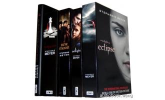 暮光之城全集共4本英文+中文2.64G The Twilight Saga Unabridged (mp3音频+mobi+epub+pdf+txt+docx)