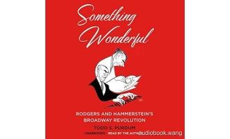 Something Wonderful: Rodgers and Hammerstein's Broadway Revolution – Todd S. Purdum Unabridged (mp3/m4b音频) 299.81 MBs